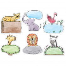 CTP3379 - 10In Safari Friends Designer Cutout in General
