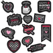 CTP4049 - Valentines Day Chalk Reward Stickers in Stickers