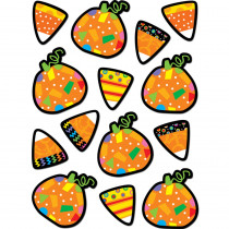 CTP4117 - Poppin Patterns Pumpkins & Candy Corn Stickers in Holiday/seasonal