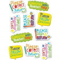CTP4125 - Time Saving Phrases Stickers in Motivational