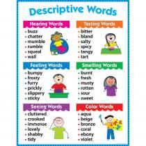 CTP4171 - Descriptive Words Chart Gr 1-3 in Language Arts