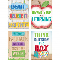 CTP4236 - Upcycle Style Motivational Stickers Inspire U in General