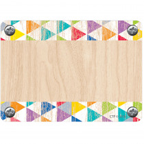 CTP4578 - Rustic Triangles Labels Upcycle Style in Name Tags