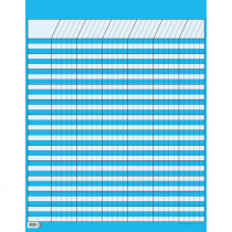 CTP5067 - Lg Brt Blue Vertical Incentive Chart in Incentive Charts