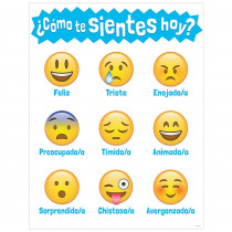 CTP5392 - Como Te Sientes Hoy How Are You Feeling Today Chart in Multilingual