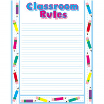 CTP5588 - Chart Classroom Rules 17 X 21 in Miscellaneous