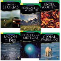 CTP5753 - Earth And Space Science Variety Pk 6 Books in Earth Science