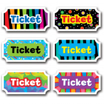 CTP5947 - Tickets 6 In Designer Cut-Outs in Tickets