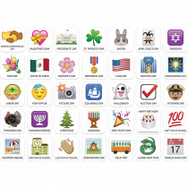CTP6059 - Emoji Fun Holiday Calendar Cover-Up in General
