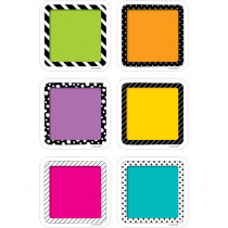 CTP6350 - 3In Colorful Cards Cutout Bold And Bright in Accents
