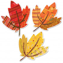 CTP6436 - Autumn Leaves 6In Designer Cut-Outs in Holiday/seasonal