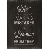 CTP6681 - Mistakes Poster in Motivational