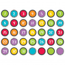 CTP6948 - Bold And Bright Calendar Days in General