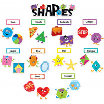 CTP6962 - Shapes Mini Bulletin Board Set in Miscellaneous