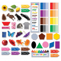 CTP6978 - Colors & Shapes Mini Bulletin Board Set in Miscellaneous