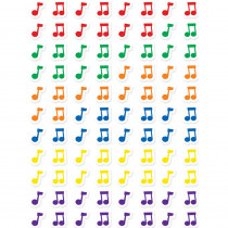 CTP7162 - Music Notes Hot Spots Stickers in Stickers