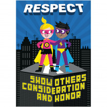 CTP7279 - Respect Superhero Inspire U Poster in Inspirational