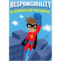 CTP7280 - Responsibility Superhero Poster Inspire U in Inspirational