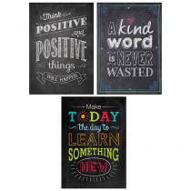 CTP7485 - Be Your Best Poster Pack Chalk It Up in Motivational