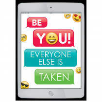 CTP8095 - Be You Emoji Fun Inspire U Poster in Inspirational