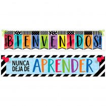 CTP8154 - Bienvenidos Bright Spanish Banner in Banners