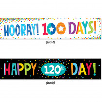 CTP8156 - 100Th Day And 120Th Day Banner in Banners