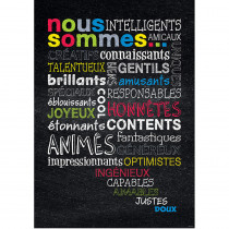 CTP8172 - Nous Sommes French Inspire U Poster in Charts
