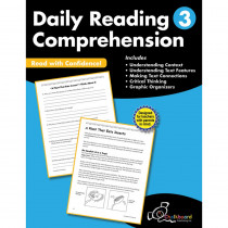 CTP8183 - Gr3 Reading Comprehension Workbook Daily in General