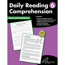 CTP8186 - Gr6 Reading Comprehension Workbook Daily in General