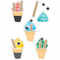 CTP8219 - Happy Birthday Ice Cream Cones Pcs Replacement in Holiday/seasonal