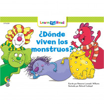 CTP8259 - Donde Viven Los Monstruos - Where Do Monsters Live in Books