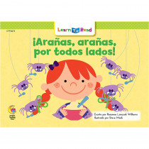CTP8273 - Aranas Aranas Por Todos Lados - Spiders Spiders Everywhere in Books