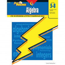 CTP8321 - Power Practice Algebra Gr 5-8 in Algebra