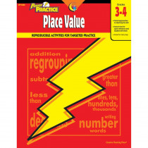 CTP8360 - Place Value 3-4 Math Power Practice in Place Value