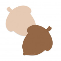 CTP8529 - Acorn 3 Inch 2-Color Cut-Outs in Accents