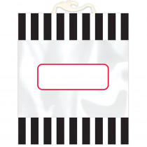 Bold Stripes Book Buddy Bag, Pack of 6 - CTP8538 | Creative Teaching Press | Desk Accessories