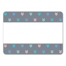 CTP8706 - Mini Chevrons Name Tag Labels Calm & Cool Colorful in Name Tags