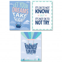 CTP8745 - Calm & Cool Inspire U 3-Poster Pk in Inspirational