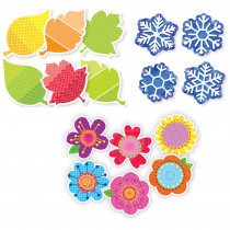 CTP8900 - 3 Seasons 6In Cut-Outs Pack in Accents