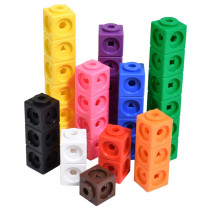 Math Cubes, Set of 100 - CTU12710 | Learning Advantage | Patterning