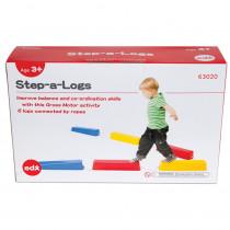 Step-A-Logs, Set of 6 - CTU63020 | Learning Advantage | Balance Beams
