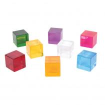 Perception Cubes, 8-Piece Set - CTU72608 | Learning Advantage | Sensory Development