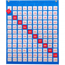 CTU7287 - 1-120 Pocket Chart in Pocket Charts