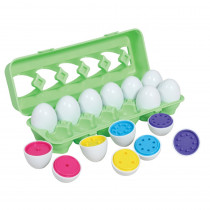 Color Match Eggs - CTU74064 | Learning Advantage | Sorting