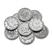 CTU7501 - Half-Dollar Coins Set Of 50 in Money