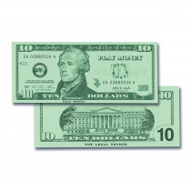 CTU7509 - $10 Bills Set 100 Bills in Money
