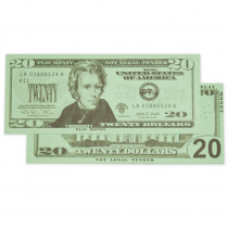 CTU7529 - $20 Bills Set 100 Bills in Money