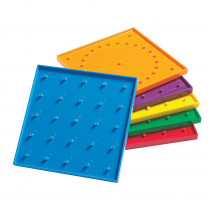 CTU7748 - 6In Double Sided Geoboards in Graphing