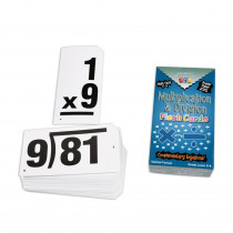 CTU8661 - Double Value Vertical Flash Cards Multiplication Division in Flash Cards