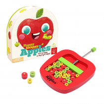 Happy Snappy Apples - First Strategy Game for Kids - For Ages 3+ - A Fun Motor Skills Game for Children and Families - CTUAS81012 | Learning Advantage | Games
